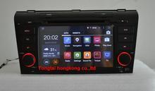 """7 """"Android 5.1.1 para MAZDA 3 2004-2009 del coche dvd, navegación gps 3G, Wifi, BT, quad core, 1024×600, soporte dvr, obd2, Ruso, Inglés"""
