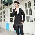 XS-6XL! novedad personalizada de los hombres nueva ropa banquete de boda trajes del cantante etapa traje de chaqueta masculina ropa más tamaño abrigo