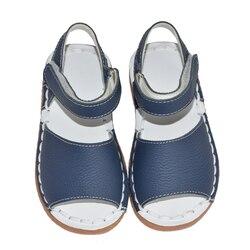 طفل الفتيات الصنادل 2019 الصيف الاطفال الوردي الأبيض البحرية الكلاسيكية للفتيات الصغيرات حذاء طفل صغير handsewing chaussure عادي الصنادل