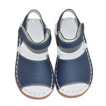 Девочки сандалии 2017 летние дети розовый белый синий классический для маленьких девочек малышей обувь handsewing chaussure равнине сандалии