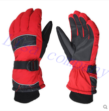 2016 hot sale a pair of winter riding warm gloves unique code waterproof outdoor ski glove