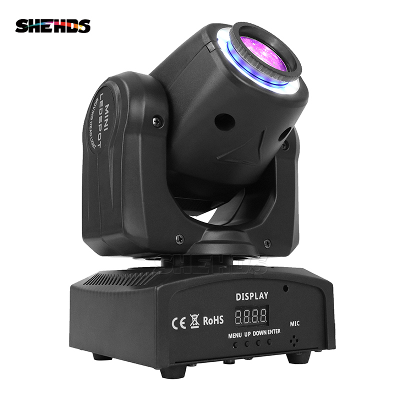 4PCS LED Spot 30W DMX512 Stage Effect Lighting With Light Strip Business Lights With Professional For Party Disco DJ Dance Floor стоимость