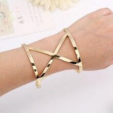 manchette h love bracelet femme jonc cuff bracelets for women carters gold silver plated pulseira feminina indian jewelry