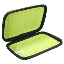 6 Inch GPS Bag Cover For TomTom Go 6100 6 000 610 600 Case Portable PU Leather Shockproof In-Car SatNav Navigation GPS Case