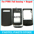 For Blackberry Porsche P9981 9981 Original Mobile Phone Housing Cover case + Keypad  Free shipping