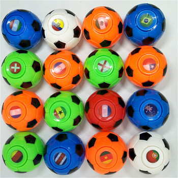 Mini pelota de baloncesto de fútbol Spinner antiestrés de juguete mano punta Gyro Anti-estrés alivio de la diversión EDC reducir juguete con agua a presión para adolescentes adultos