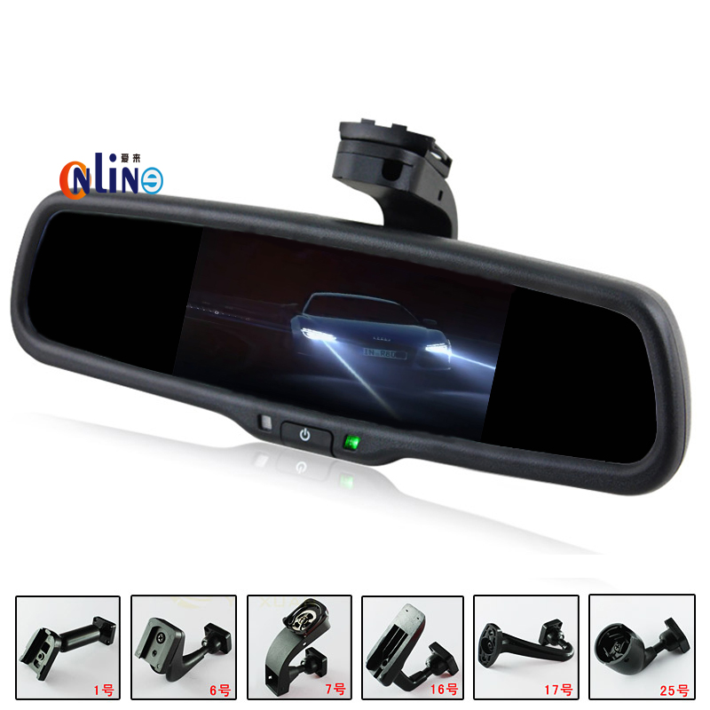 car electronic auto dimming interior mirror with special bracket for vw skoda toyota kia honda. Black Bedroom Furniture Sets. Home Design Ideas