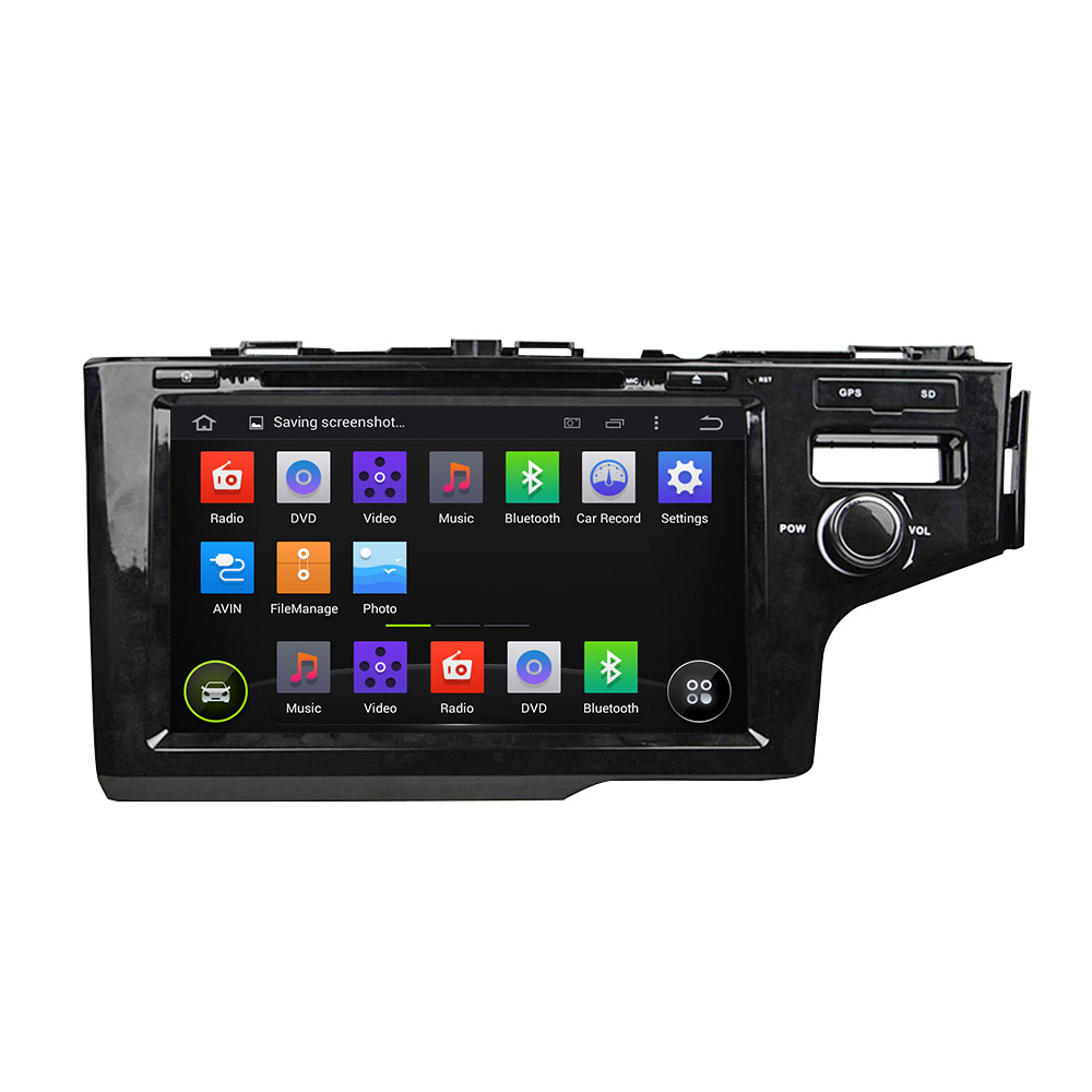 Pure Android 5 1 System Car DVD GPS Navigation System for Honda Fit 2014 right hand