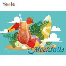 Yeele летние фоны для фотосъемки с изображением хвоста вечеринки