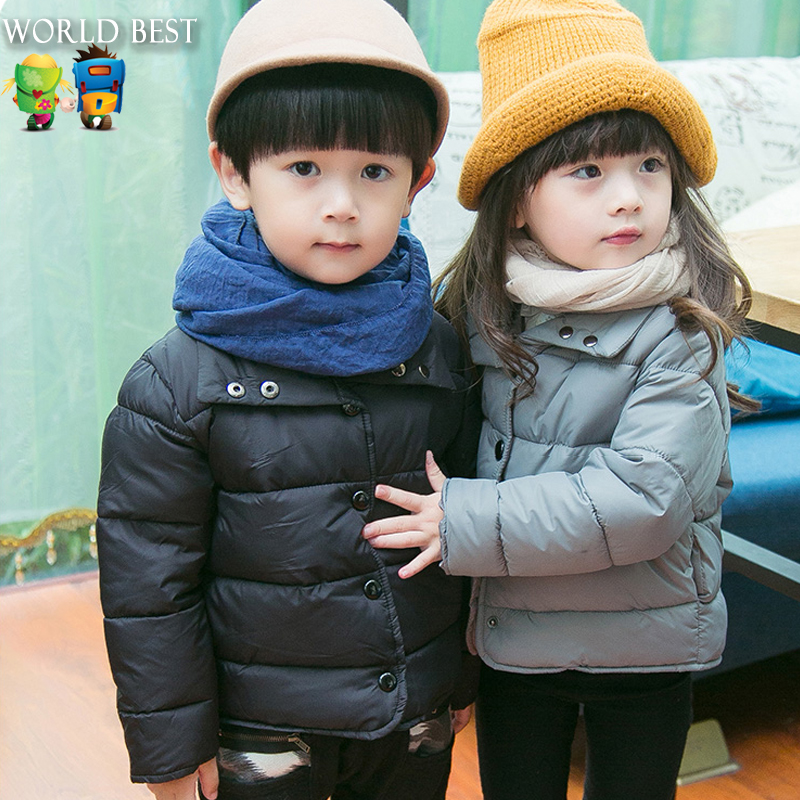Children Clothing Girls Winter Coat 2015 Fashion Winter Jackets For Teenage Girls Comfortable Solid Color Girls Winter Outerwear