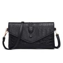 Alligator Crossbody Bags for Women 2019 Luxury Handbags Women Bags Designer High Quality Ladies Clutch Purse Shoulder Bags цена