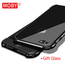 MOBY Brand High Quality Metal Aluminum Back Cover Case For Apple iPhone 6s /iPhone 6s Plus Mobile Phone Bag Coque Capa