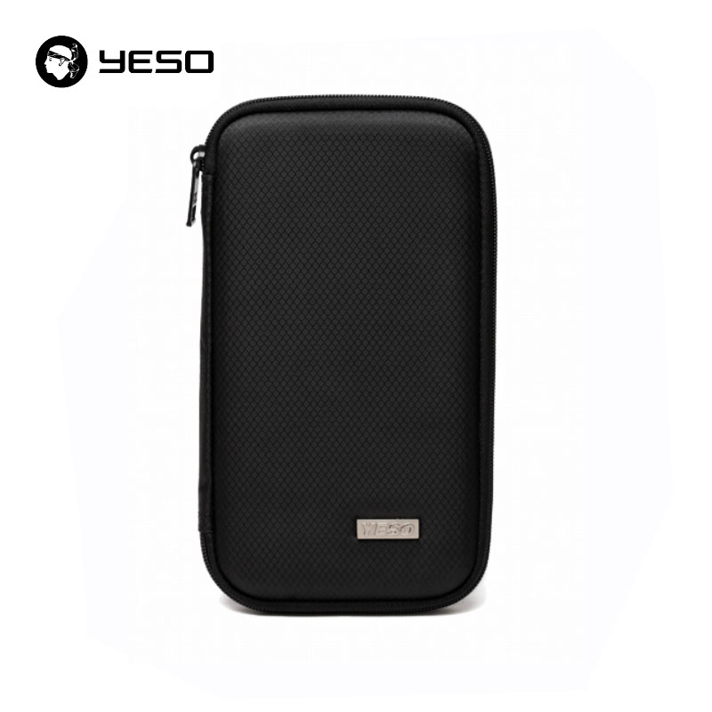 YESO Casual Travel Passport Cover Bag Unisex Business Credit Bag Holder Organizer Cover On The Case Oxford Clutch Wallets Bags