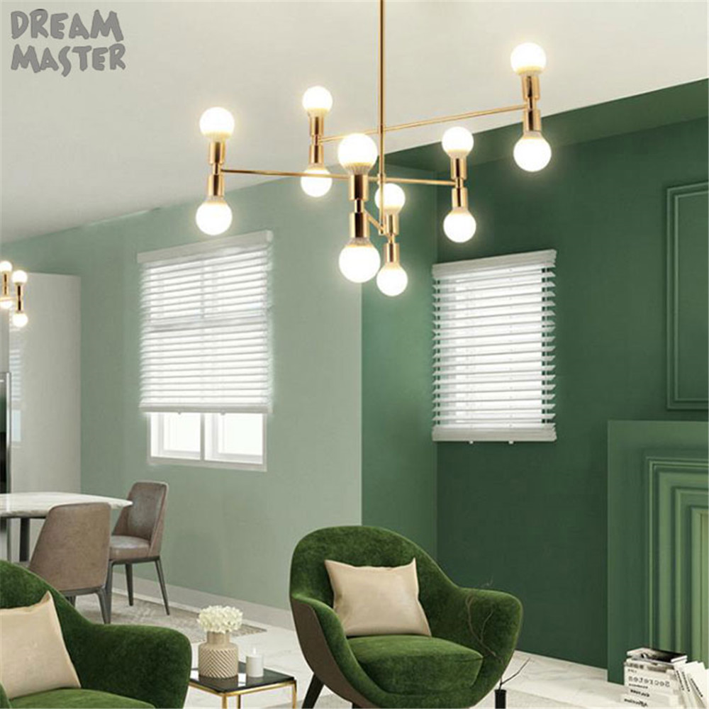 Chandeliers Postmodern Chandeliers Ceiling Nordic Luminaires Deco Lighting Glass Fixtures Living Room Hanging Lights Bedroom Pendant Lamps