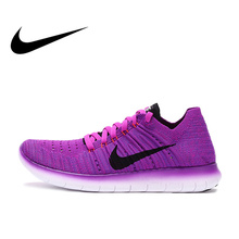 NIKE Free Flyknit Barefoot Women's Light Comfortable Running Sneakers