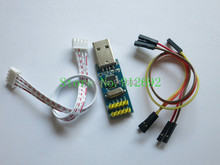 mini ST-LINK V2 ST LINK STLINK STM8 STM32 emulator download super protection(China)