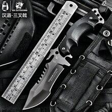 HX На Открытом Воздухе Тактический карманный karambit нож фиксированным лезвием titanium стали охотничьи ножи отдых на природе выживание EDC инструменты военная navajas