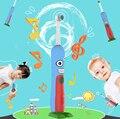Мягкой щеткой Dupont кисть IPX7 Водонепроницаемый ротари Электрическая Зубная Щетка для Ребенка девушка дети Аккумуляторная Гигиена Полости Рта