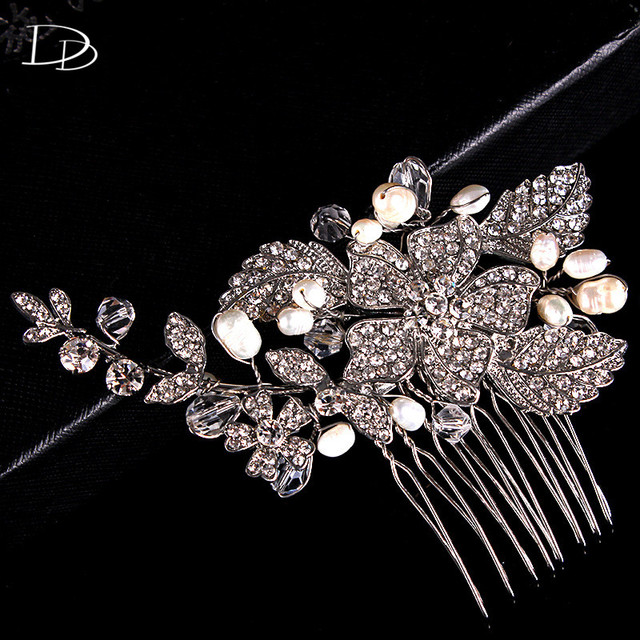 Aliexpresscom Buy Bohemia Luxury Flower Bridal Hair Accessories