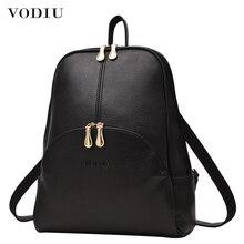 Women Backpack Leather Backpacks Softbac