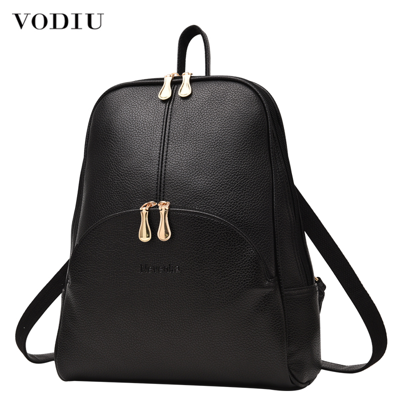 Women Backpack Leather Backpacks Softback Bags Brand Name Bag Preppy Style Bag Casual Backpacks Teenagers Backpack Sac A Dos