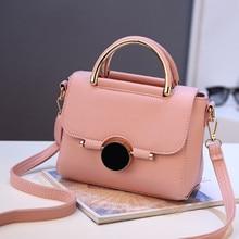 Bolso de las mujeres Diseñador de la Nueva Moda Casual Bolsas de Mensajero de lujo bolso de hombro de alta calidad de la PU paquete de la Marca Sweet Lady estilo Coreano