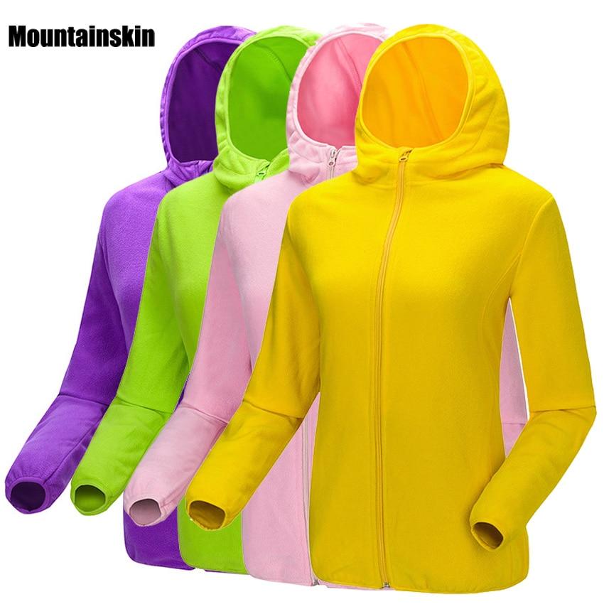 Men Women's Winter Fleece Warm Softshell Jacket Outdoor Sport Hooded Brand Coats Hiking Skiing Camping Male Female Jackets VA093