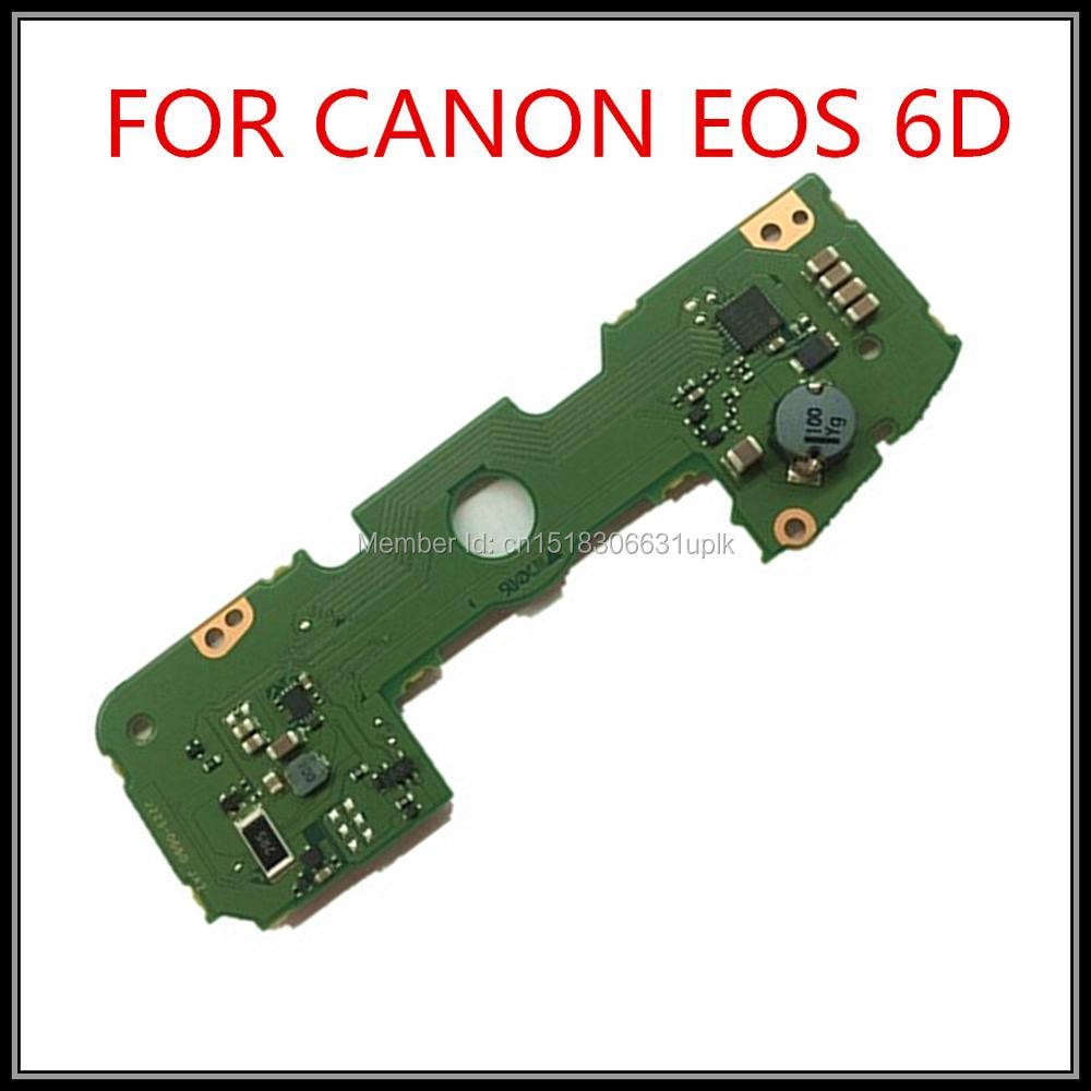 ФОТО 100%  NEW original bottom board 6D driver board 6D flash board for Canon EOS 6D Board dslr camera Repair Part free shipping