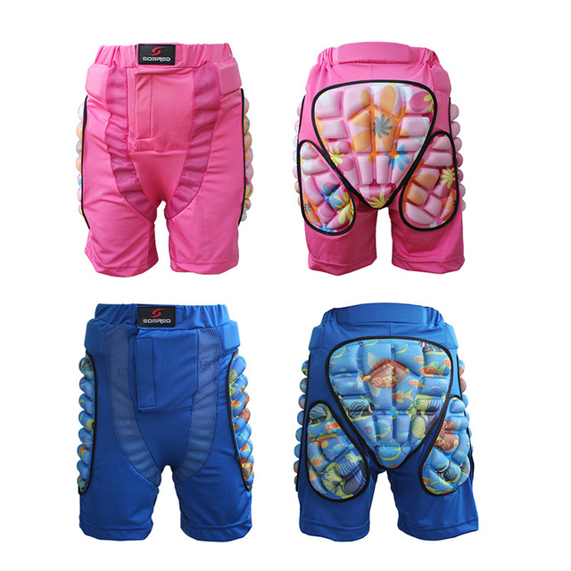 Children Kids Hip Pad Ice Skating Skiing Protective Gear UNBreak Pants Pads Bicycle Skateboard Roller Patines Thicken Protector