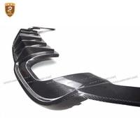Real Carbon Fiber Rear Bumper Lip Fits For Au-di S3 2017 Auto Car Diffuser Rear Lip Car Styling Auto Modified car Accessories