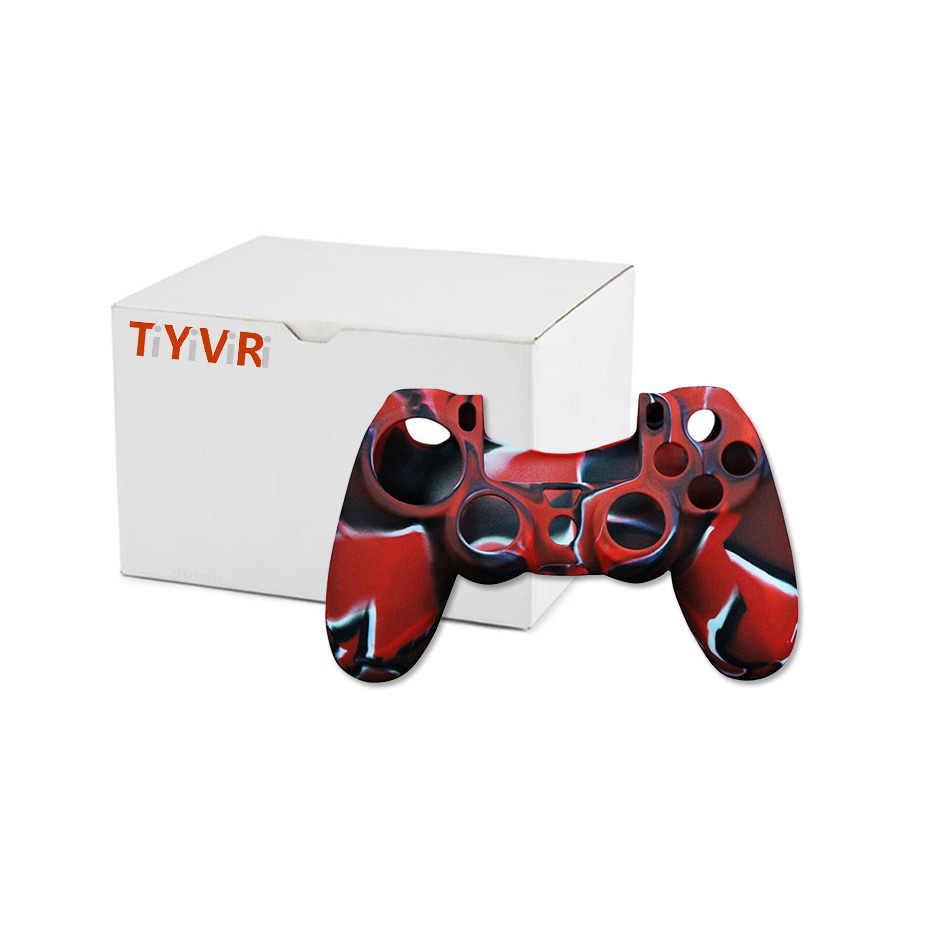 Чехол-джойстик для sony PS 4 playstation 4 Skin Play Station PS 4 Dualshock 4 контроллер консоль контроллер Крышка Аксессуары