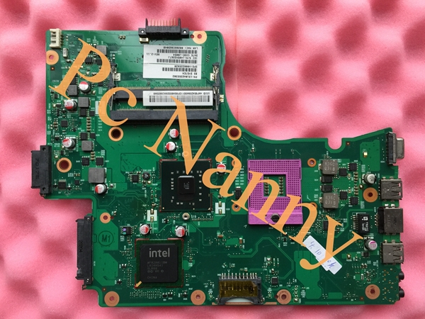 On sale V000225020 6050A2355301-MB-A03 laptop motherboard for Toshiba C655 series INTEL GL40 + Free CPU GMA 4500M DDR3 Tested