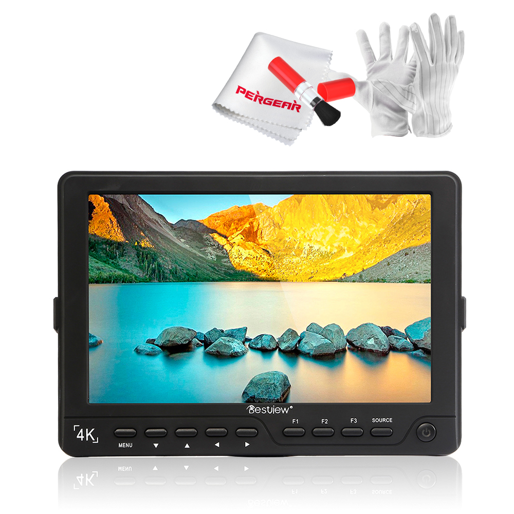 BESTVIEW S7 4K Camera HDMI HD Monitor Video TFT field 7 DSLR LCD Monitor 1920*1200 for Canon 5D 6D Nikon as Feelworld FW760