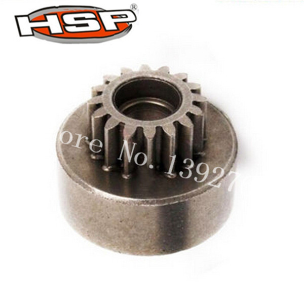 1 Pcs 62015 HSP Clutch Bell Gear(16T) Metal For RC 1/8 Model Car Spare Parts HSP RC Remote Control Car Truck Buggy hsp rc model car spare part 02023 clutch bell double gears 16t 21t rc 1 10th 4wd truck buggy destrier backwash