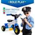 Bicicletas Triciclo do bebê Passeio Em Crianças de 12 meses-5 Anos Carrinho De Bebê andador Bicicleta Controle Carros das Crianças Bicicletas Equitação Segura para