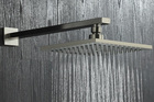 Brushed Nickel Stainless Steel Square Shower Arm Shower Head arm Wall Mounted Ceiling Mounted Shower Head Arm Wholesale