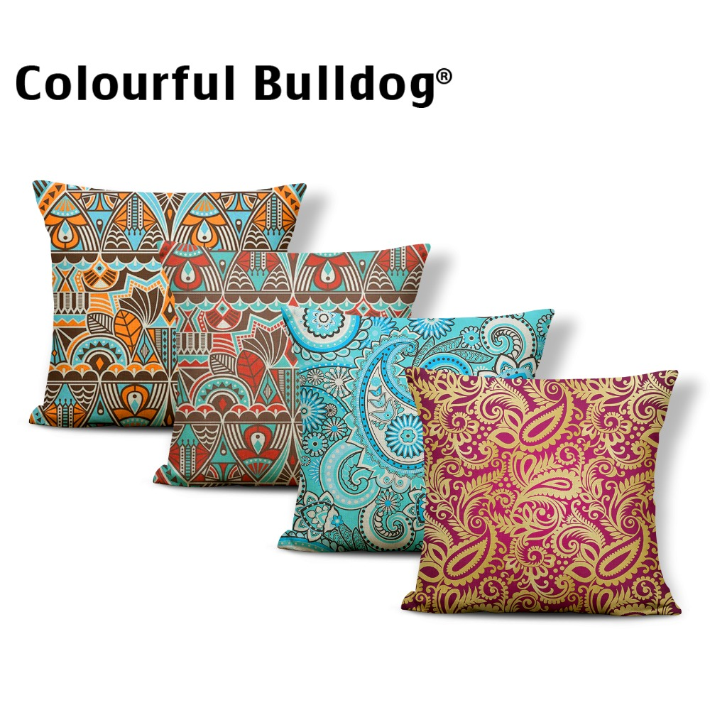 Sass /& Belle Metallic Cushion With Inner Square Pillow Bed Sofa Accessories
