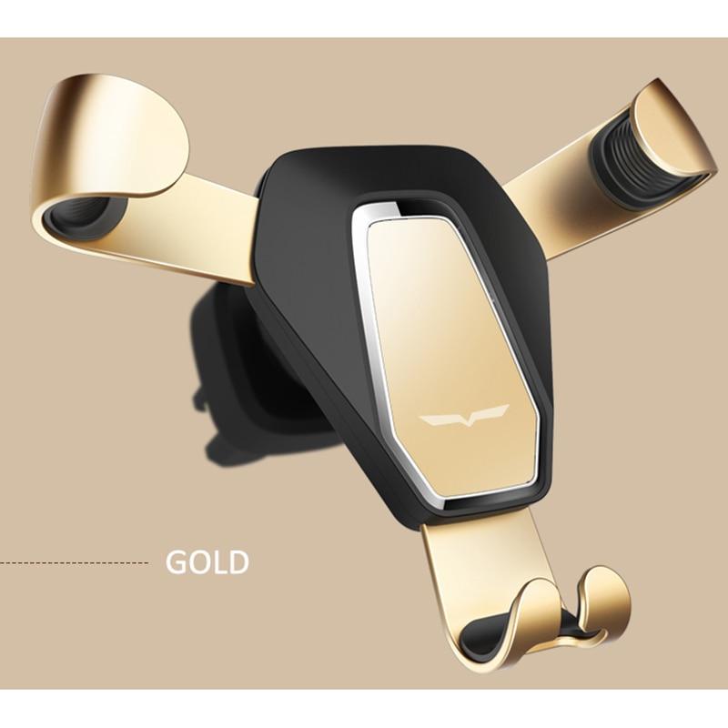 CDEN Universal Gravity Reaction Car Mobile <font><b>phone</b></font> <font><b>holder</b></font> Clip Air <font><b>Vent</b></font> Mount GPS Car <font><b>Phone</b></font> <font><b>Holder</b></font> for iPhone 7 6s Plus Samsung