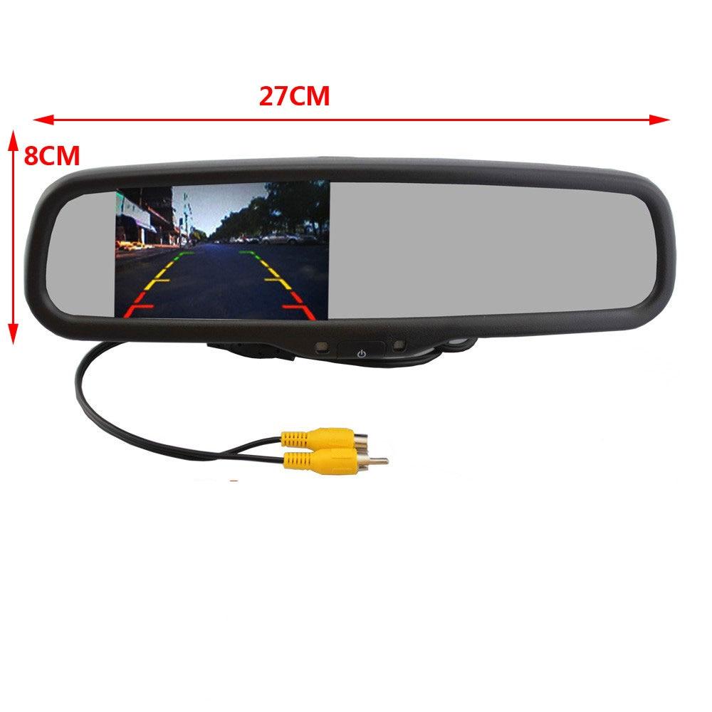 Артқы көрініс камерасы 4.3 «TFT LCD - Автомобиль электроникасы - фото 3