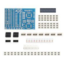 10 sztuk/partia SMT SMD komponent deska do ćwiczeń spawalniczych lutowania DIY zestaw Resitor tranzystor diodowy przez start Learning Electronic
