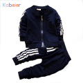 Boy Clothing Girls Tracksuits Kids Sport Suit Set Casual Cardigan Coats/Sweatshirts+Pants 2PCS Baby Set For Toddler Boys Clothes