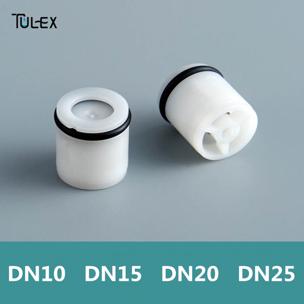 TULEX Plastic Check Valve 10MM-25MM Non Return Shower Head Valve Kitchen Bathroom Accessory One Way Water Control Connector