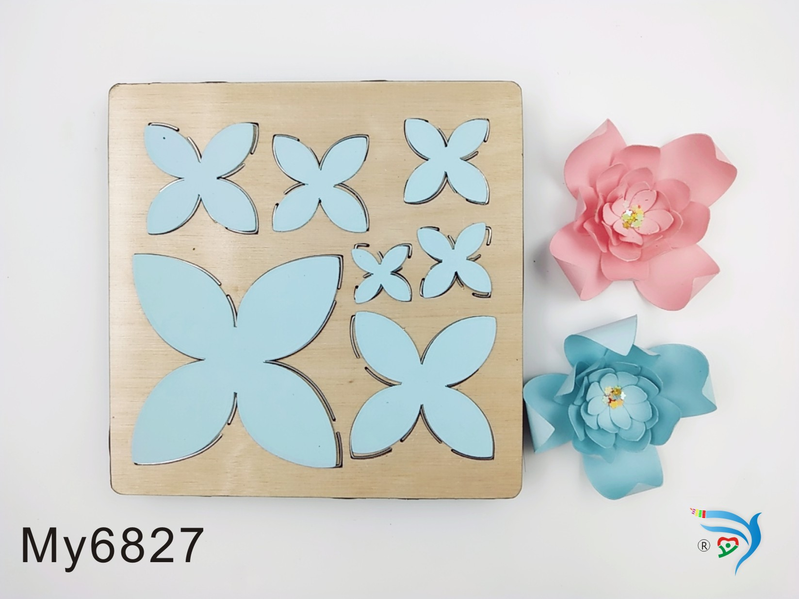 FLOWER2 muyu cutting die   new wooden mould cutting dies for scrapbooking Thickness 15.8mm-in Cutting Dies from Home & Garden    1