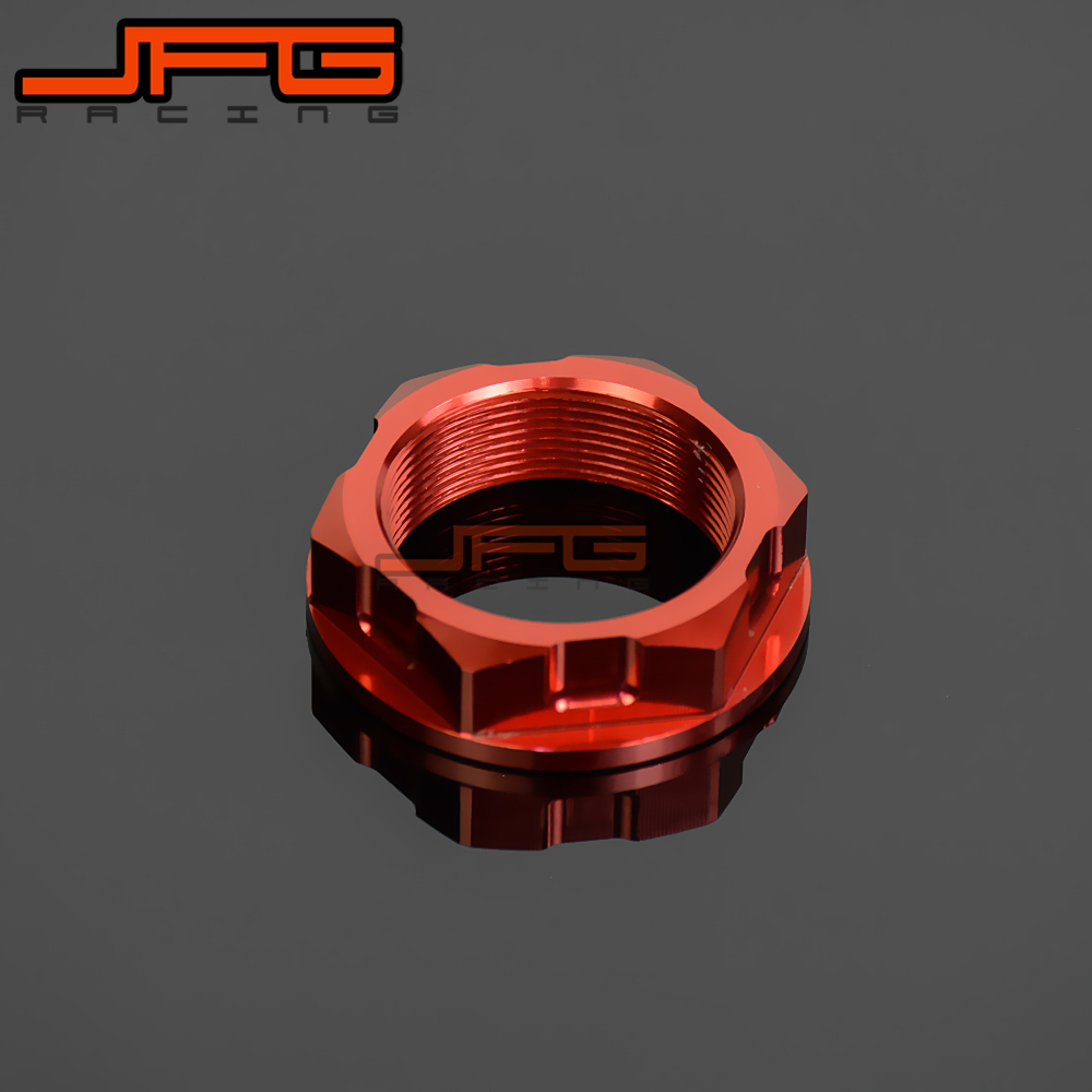 CNC Billet Steering <font><b>Stem</b></font> <font><b>Nut</b></font> For CRF250R CRF250X 2004-2016 CRF450R 2002-2016 CRF450X 2005-2016 Dirt <font><b>Bike</b></font> Motocross Off Road MX image