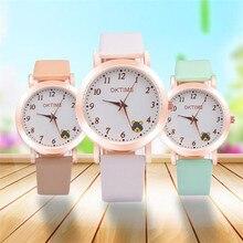 Durable 2016 fashion relogio women watches  reloj hombre Women's Fashion Leather Analog Quartz Vogue Wrist Watch