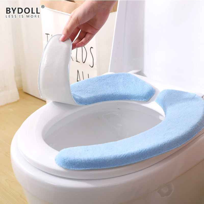 Bydoll Portable And Washable Toilet Seat Cover Cushion