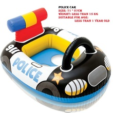 Pool Float For Baby Kids Floats 0-3Year Inflatable Floaties Water Beach Swimming Ring Aircraft Fire Truck Pvc