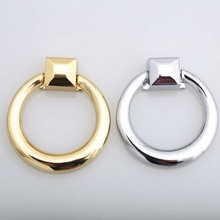 modern simple fashion shky drop rings furniture handles 62mm silver golden drawer cabinet dresser knobs pulls