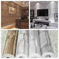 3D PVC modern brick  wallpaper for living room,vintage brick imitation grain stone grain wall paper,papel de parede tijolo