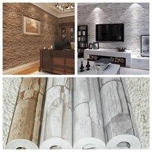 3D ПВХ современный кирпич обои для гостиной, старинные кирпичные имитация зерна камень зерна обои, papel де parede tijolo